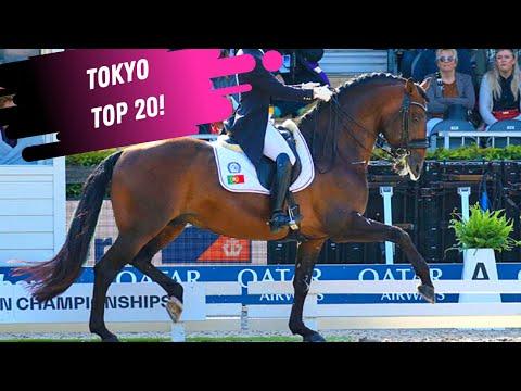 Tokyo Top 20: João Miguel Torrao & Equador Grand Prix Dressage Freestyle