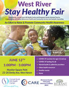 West River Stay Healthy Fair Saturday June 12th 1-5pm