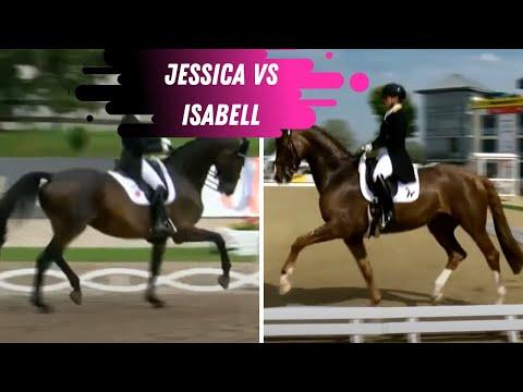 Head To Head Matchup: Jessica Von Bredow-Werndl VS Isabell Werth Grand Prix Dressage Freestyle