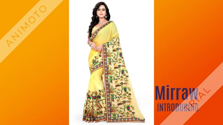 Latest_designer_Chiffon_sarees_online_at_Mirraw