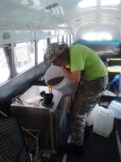 The Veterans Green Bus Large Marge