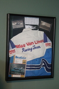Blue Blaster racing team tribute box
