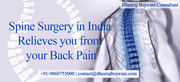 Low cost #SpineSurgeryIndia relieves you from your back pain