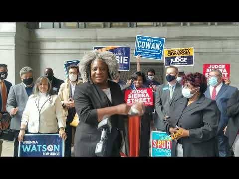 Allegheny County Democratic Black Caucus press conference