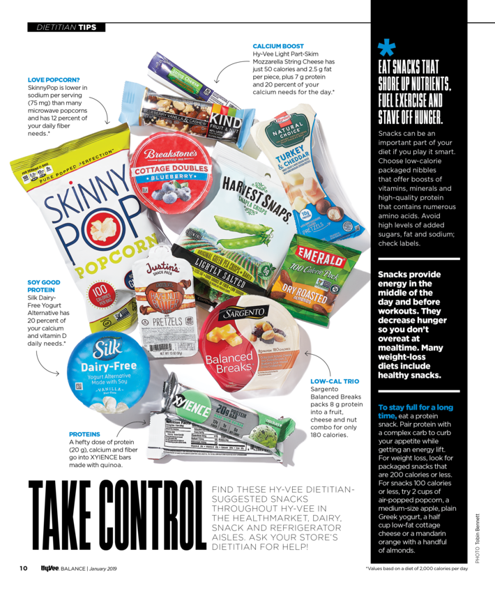 Hy-Vee Balance Magazine - FOB - Dietitian Q&A