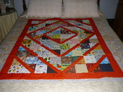 Four's The Charm - Baby Quilt