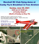 Canby RC Flying demo