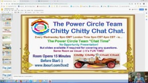 Power Circle Team Chitty Chitty Chat Chat, Squeeze Page Training, List Update, Webinar Replay 23rd Jan 2019