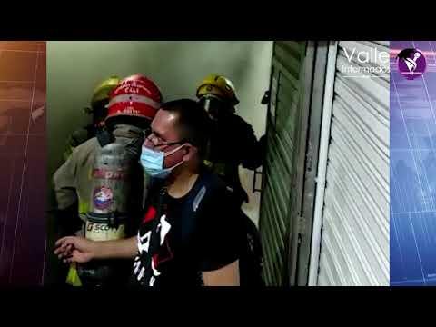 INCENDIO EN EL CENTRO COMERCIAL LA FORTUNA DE CALI - COLOMBIA