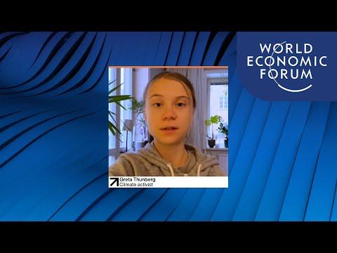 Greta Thunberg's message to the Davos Agenda | DAVOS AGENDA 2021