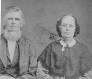 Hiram and Nancy Ann Parker