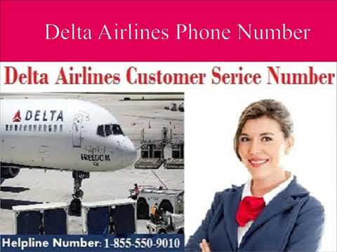 Dial Delta Airlines Customer Service  - 1-855-550-9010