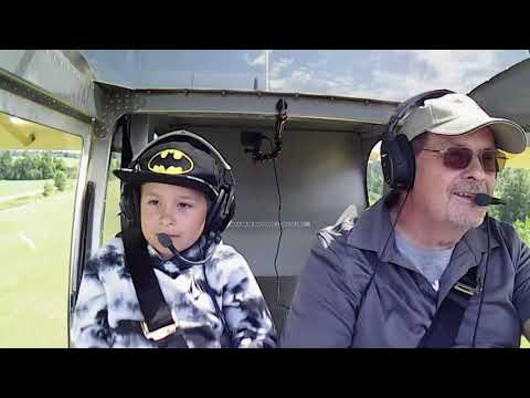 His first ever flight.....priceless!!!!