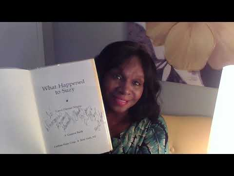 Classic The Author's UNBOXING of First Novel Award-winning What Happened to Suzy