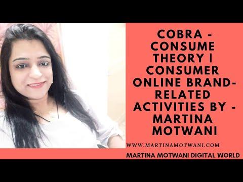 COBRA - Consumer Theory | Consumer online brand-related activities By - Martina Motwani