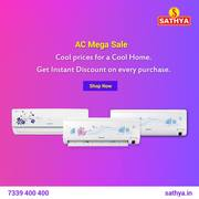 Buy AC Online | Air Conditioner Online | AC Online Shopping