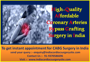 High-Quality Affordable Coronary Arteries Bypass Grafting Surgery in India