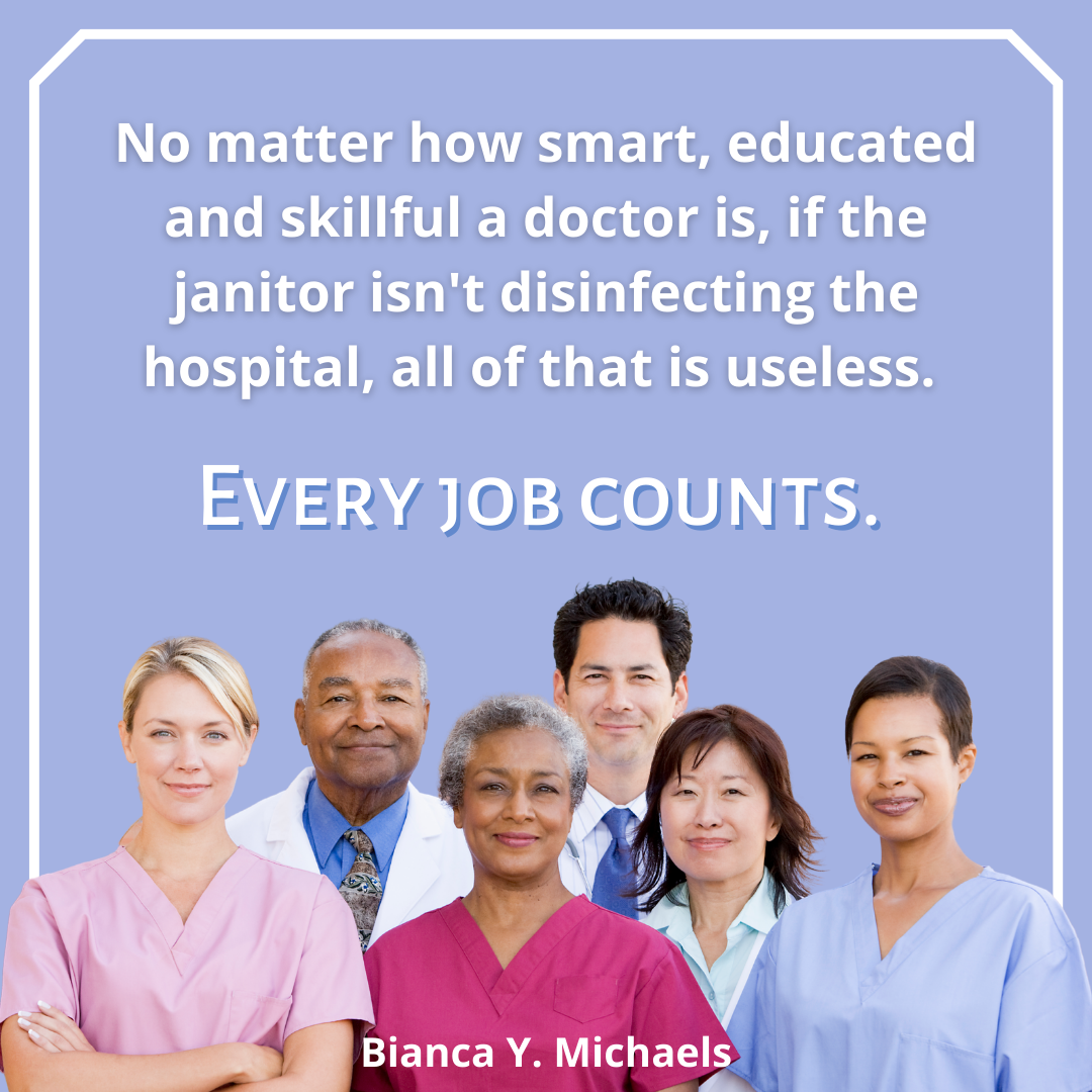 Every job counts
