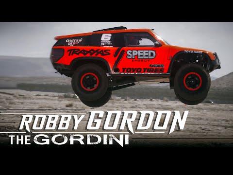 Robby Gordon - The Gordini at Vegas to Reno - Raw Footage
