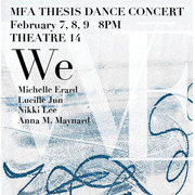 We: MFA Thesis Dance Concert