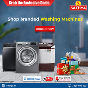 Buy Washing Machine Online - Sathya Online Shopping