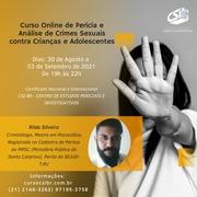 CURSO CSI BRASIL : PERÍCIA E ANÁLISE DE CRIMES SEXUAIS CONTRA CRIANÇAS E ADOLESCENTES