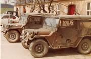 1st Sqdn 2 ACR HQ Jeeps August 1983