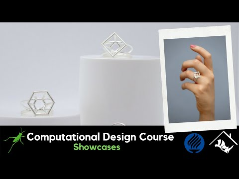 No.2_Computational Jewelry Design and Digital Fabrication with Grasshopper3D & Rhino3D