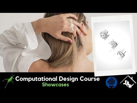 No.3_Computational Jewelry Design and Digital Fabrication with Grasshopper3D & Rhino3D