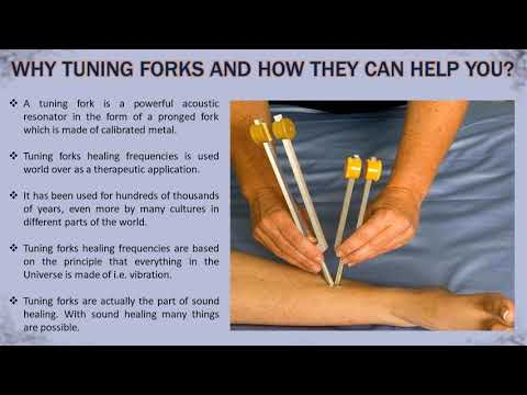 Tune Your Body & Mind Up With Tuning Forks Healing Frequencies
