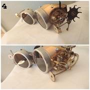 Steampunk Metal Goggles
