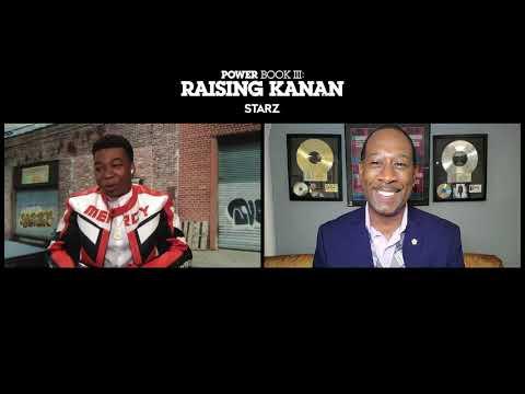 "MeKai Curtis Talks Playing 50 Cent in ""Raising Kanan"", The Next Chapter Of POWER + More!"