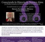 Conociendo La Historia del Alma.  Astrología Evolutiva para Todo Público