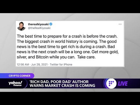 'The biggest crash in world history is coming: 'Rich Dad, Poor Dad' author