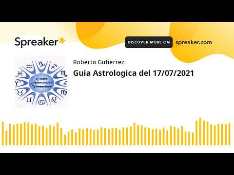 Guia Astrologica del 17/07/2021