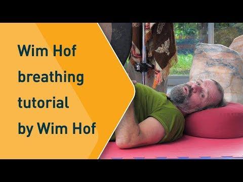 Wim Hof breathing tutorial by Wim Hof