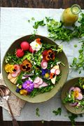 Growing edible flowers - Author and eco-educator Linda Brennan