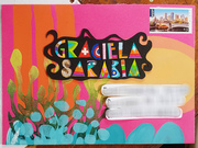 large envelope (A5) for Graciela