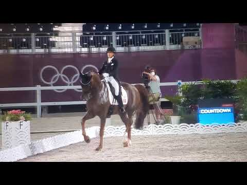 Tokyo 2021: Bohemian Heads Into Battle With Catherine Dufour Scoring  81% In The Grand Prix