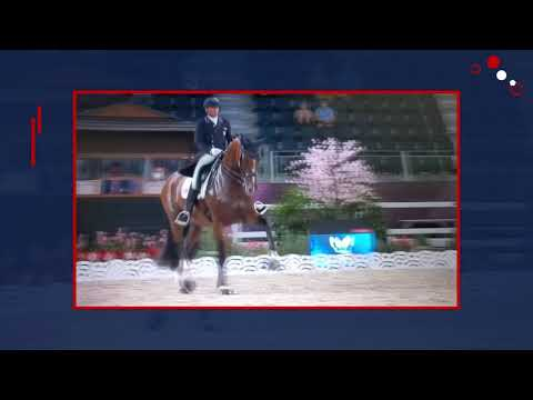 Tokyo 2021: Suppenkasper Is A Super Star In The Grand Prix With Steffen Peters - 76.2%