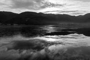 Lago di Fimon prima mattina