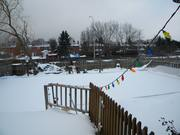Snowed in rink