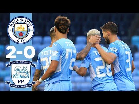 HIGHLIGHTS | Man City 2-0 Preston | Pre-season friendly 21/22