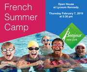 Bonjour NY French Immersion Summer Camp Open House Midtown Manhattan