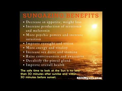 Sun Gazing Benefits Of Sunlight And How To Stare At The Sun Effectively – A Step by Step Tutorial