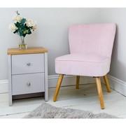 Pink Velvet Oyster Chair…