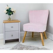 Pink Velvet Oyster Chair Group