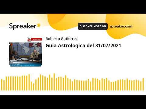 Guia Astrologica del 31/07/2021 (made with Spreaker)