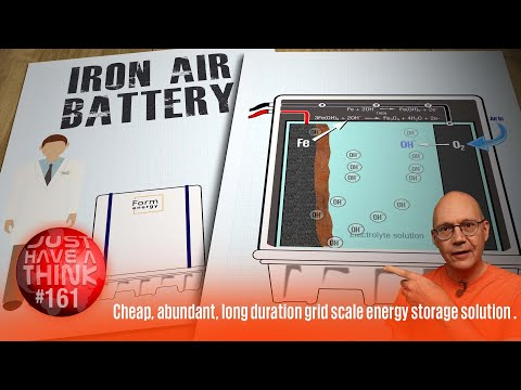 New Iron-Air Battery outperforms best Lithium Ion tech. Cheap. Abundant. Non-toxic & Carbon Free.