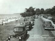 Ludington's Stearns Beach - 1950's